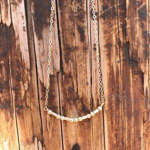 14k Gold Filled Custom Morse Code Necklace